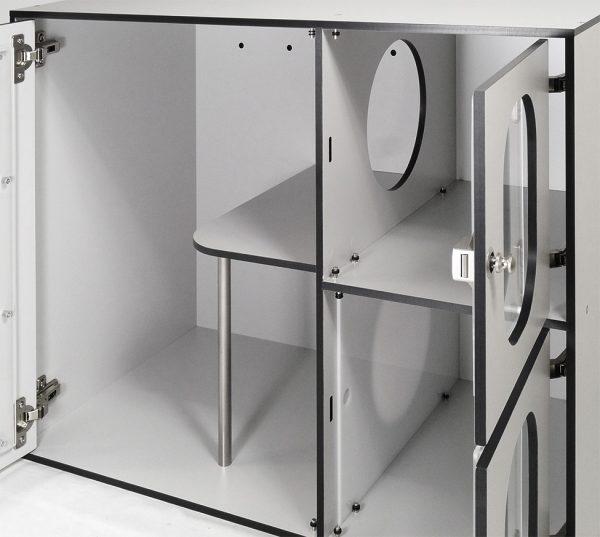 Cages pour Chat - détail intérieur