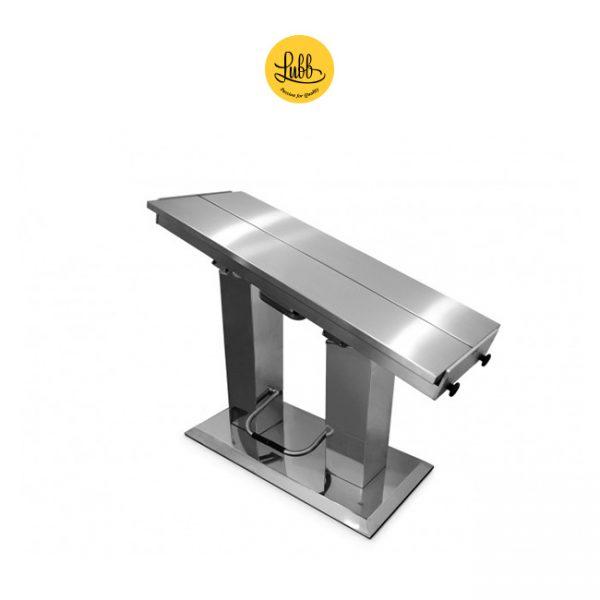 Table de chirurgie hydraulique à 2 colonnes avec plateau en V