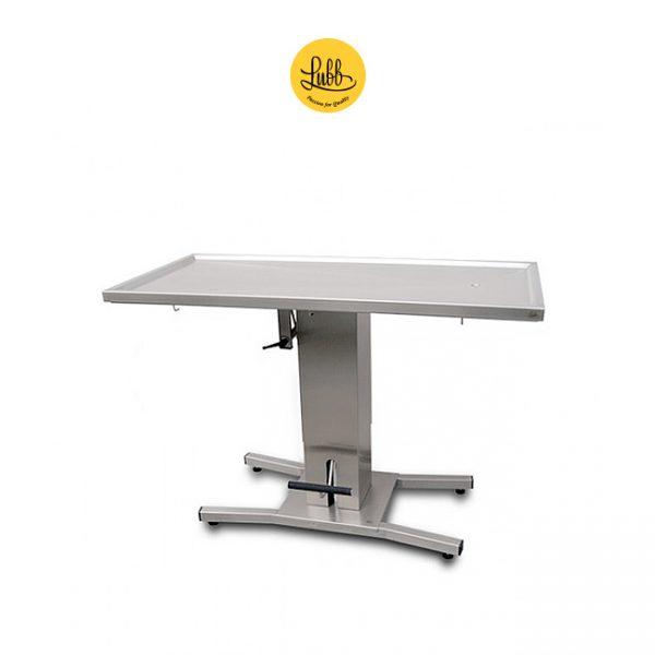Table de chirurgie hydraulique à 1 colonne avec le dessus plat