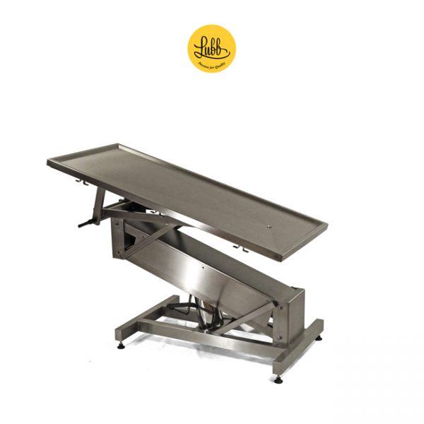 Table de chirurgie hydraulique avec structure en acier inoxydable Z et le dessus plat - 1