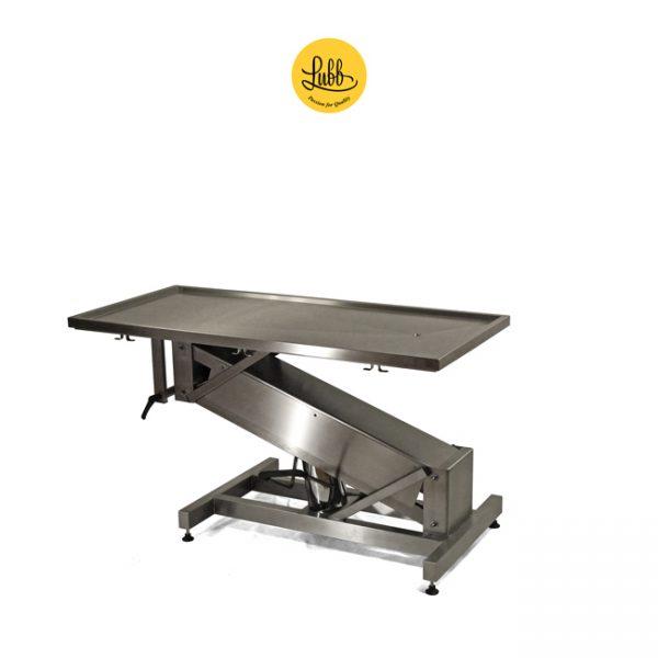 Table de chirurgie hydraulique avec structure en acier inoxydable Z et le dessus plat - 3