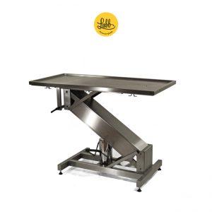 Table de chirurgie hydraulique avec structure en acier inoxydable Z et le dessus plat - 2
