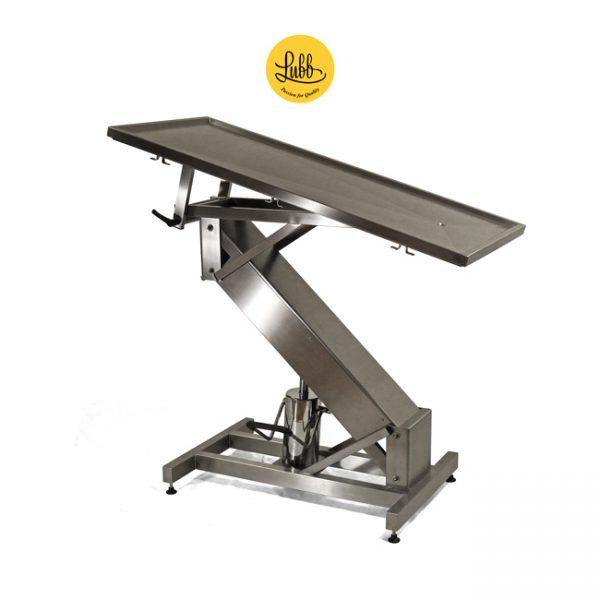 Table de chirurgie hydraulique avec structure en acier inoxydable Z et le dessus plat - 4