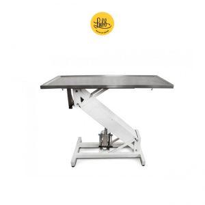 Table de chirurgie hydraulique avec structure en Z laquée et le dessus plat - 1
