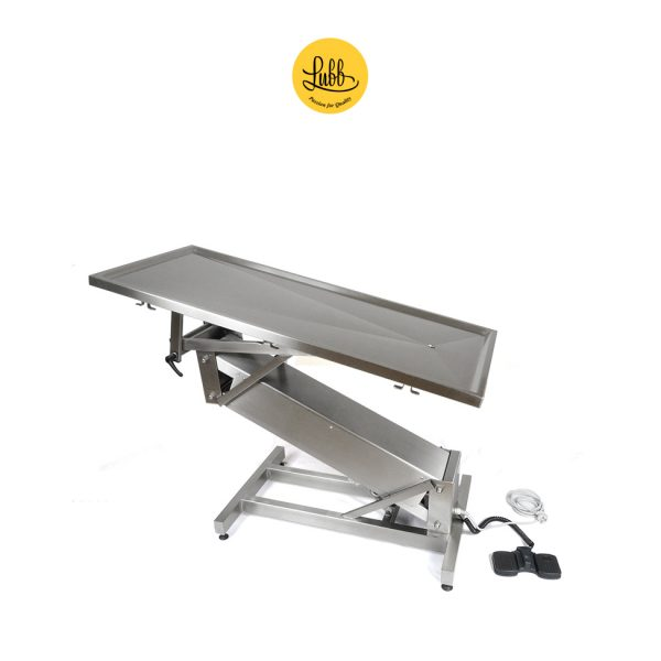 Table de chirurgie électrique avec structure en acier inoxydable en Z et plateau plat - 2