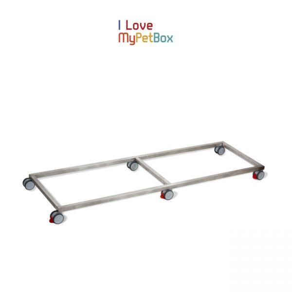 ILoveMyPetBox - base avec 6 roues