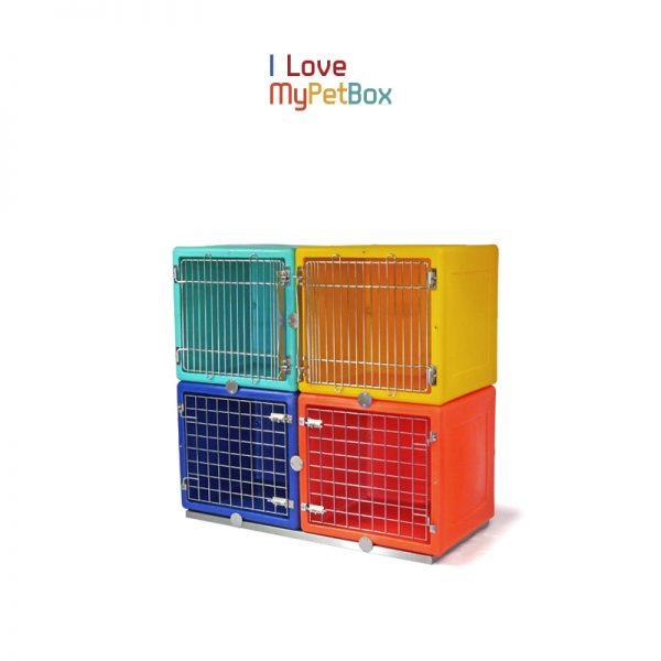 ILoveMyPetBox - base montré avec des cages