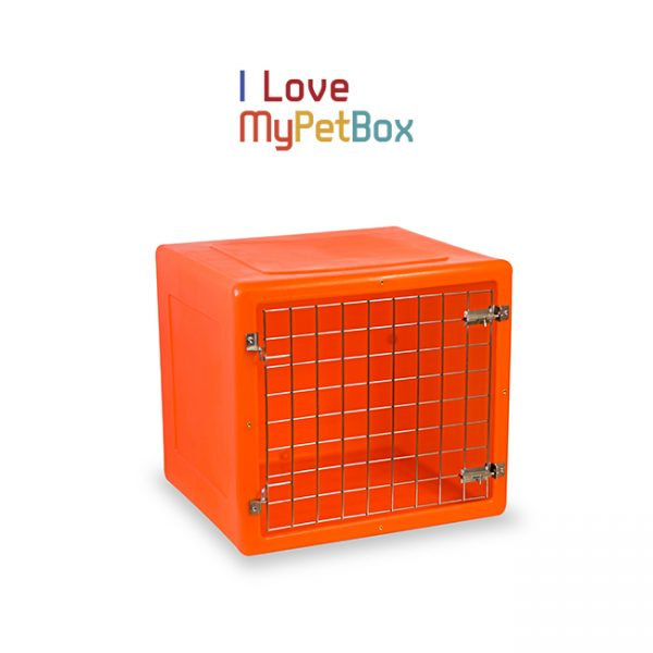 ILoveMyPetBox cage -orange avec porte de base