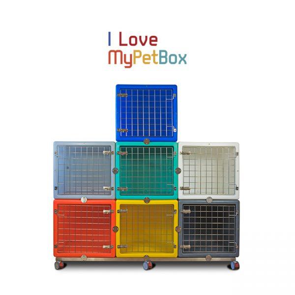 ILoveMyPetBox cages - assemblage avec porte de base